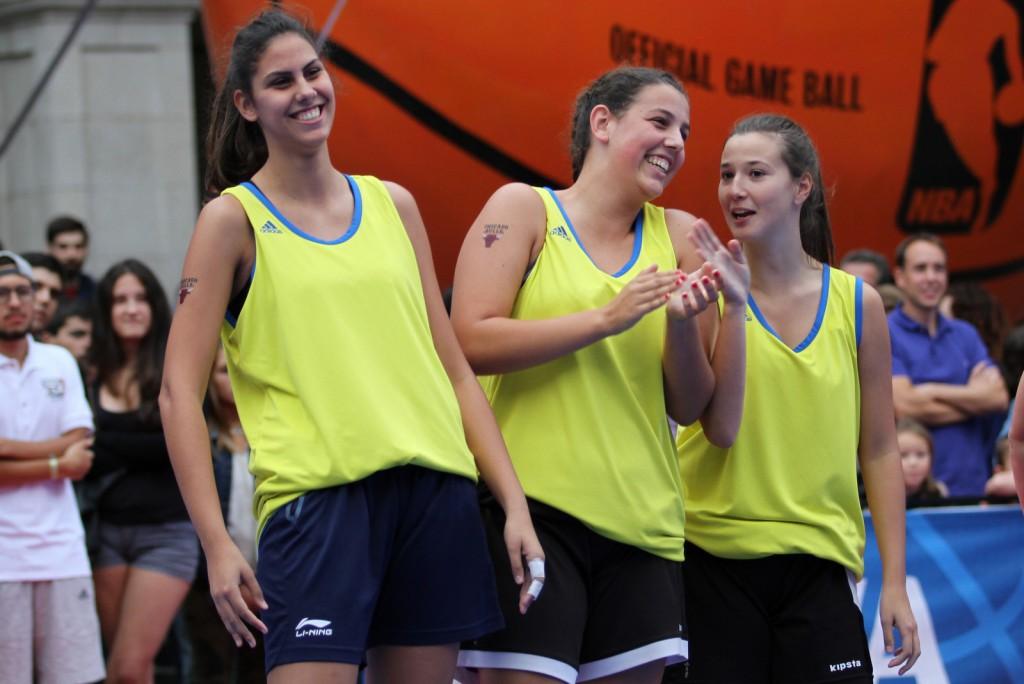 Mónica, Marina y Ali disputaron la final de la categoría Open Femenina