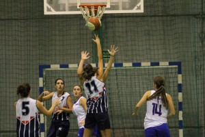 Foto de archivo del partido disputado en la primera vuelta entre CB Daygon y UC Némesis
